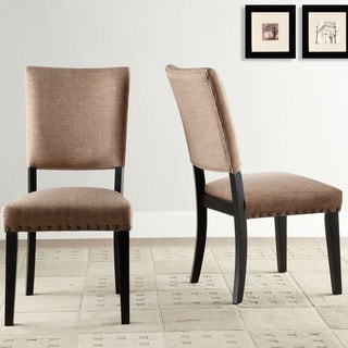 Presidio Rustic Brown Vintage Industrial Modern Dining Chair (Set of 2)