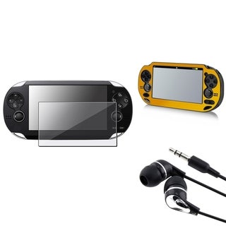 INSTEN Aluminum Case Cover/ Headset/ Protector for Sony Playstation Vita