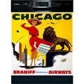 Appliance Art Vintage Chicago Dishwasher Cover