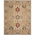 Safavieh Hand-made Anatolia Diamonds Hand-spun Wool Rug (8' x 10')