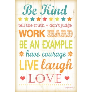Jennifer Pugh 'Be Kind' Paper Print (Unframed)