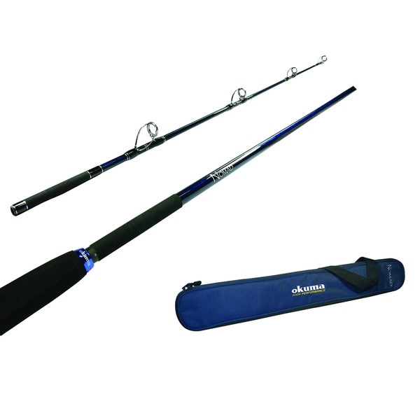 Okuma NT-C-703L-ML Nomad Travel Cast Fishing Rod (7'7)