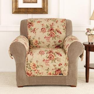 Sure Fit Lexington Floral Furniture Friend Chair Cover