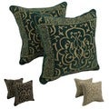 Chenille Corded Byzantium Throw Pillows (Set of 2)
