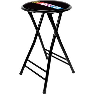 NASCAR 24-inch Cushioned Folding Stool