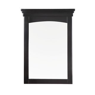 Louisiana 22 x 30 Black Bath Vanity Decor Mirror