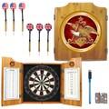 Budweiser Dart Board Cabinet Set