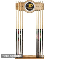 Officially Licensed NHL 2-piece Wood Mirror Cue Rack