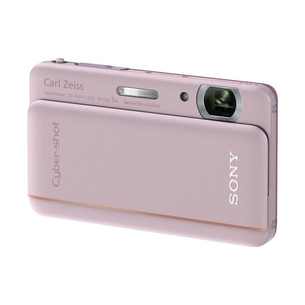 Sony Cyber-shot DSC-TX66 18.2 Megapixel Compact Camera - Pink