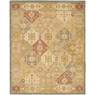 Safavieh Handmade Antiquities Bakhtieri Multi/ Beige Wool Rug (12' x 18')