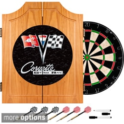Corvette Black Dart Cabinet Set