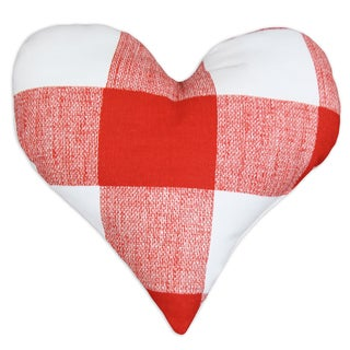 Anderson Lipstick 17-Inch Heart-Shaped Pillow