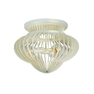 Varaluz Clout 3-light Pearl Ceiling Light