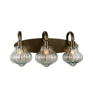 Varaluz Tusk 3-light New Bronze Bath Fixture