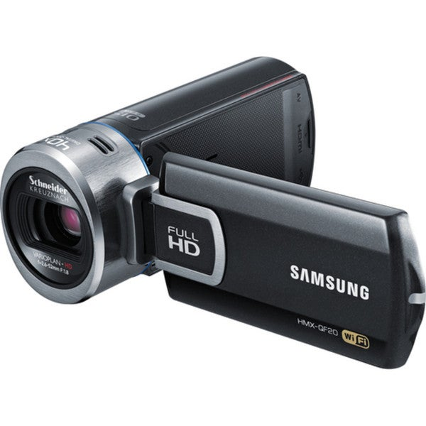 "Samsung HMX-QF20 Digital Camcorder - 2.7"" - Touchscreen LCD - BSI CMO"