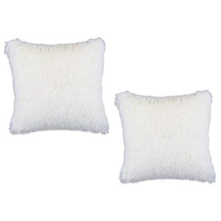 Shaggy Sands 17-inch Throw Pillows (Set of 2)