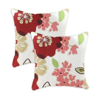 Sydney Rainforest-Hyannis 17X17-inch Decorative Pillows (Set of 2)