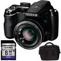 Fujifilm FinePix S4000 Digital Camera with 8GB Bundle