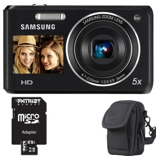 Samsung DV101F 16.1MP Digital Camera with 8GB Bundle