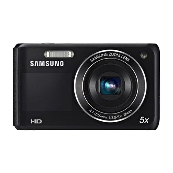 Samsung DV150F 16.2MP Black Dual-View Smart Digital Camera