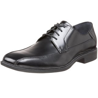 Calvin Klein Men's 'Fedor' Black Leather Lace-up Oxford Shoes