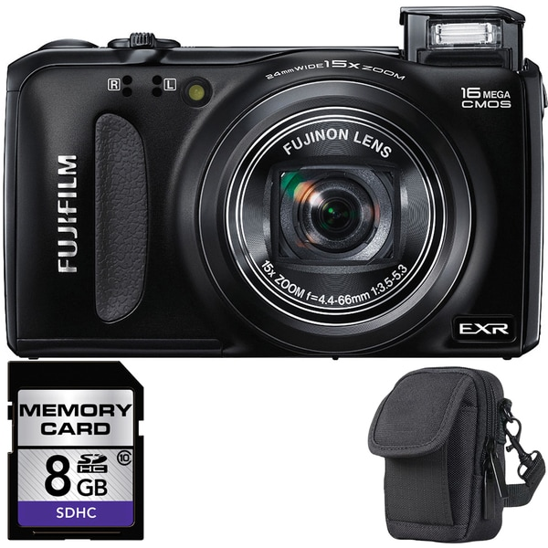 Fujifilm FinePix F660EXR Digital Camera with 8GB Bundle
