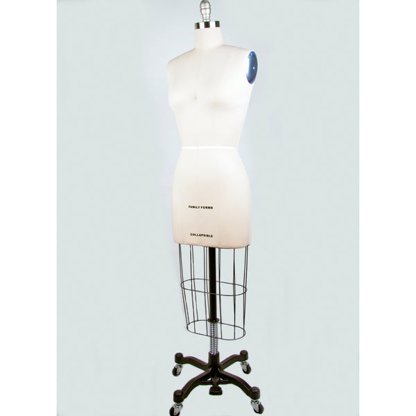 Size 16 Height-adjustable Professional Dress Form