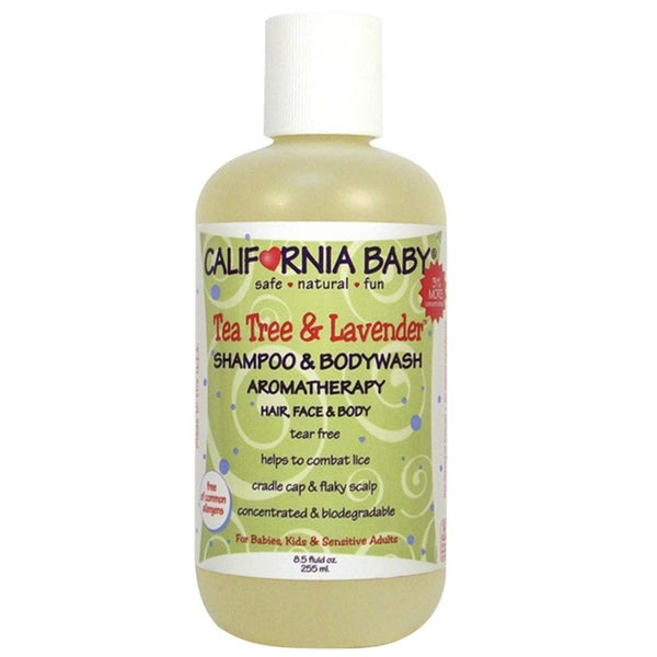California Baby Tea Tree & Lavender 8.5-ounce Shampoo & Body Wash