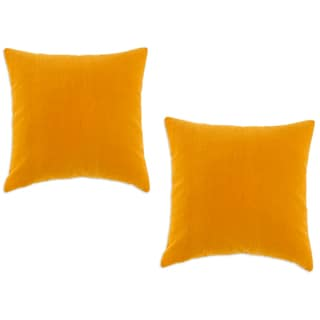 Buttercup Butterscotch Accent 17-Inch Throw Pillow Set