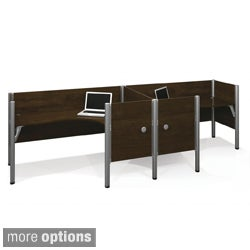 Bestar Pro-Biz Double Side-by-side L-desk Workstation