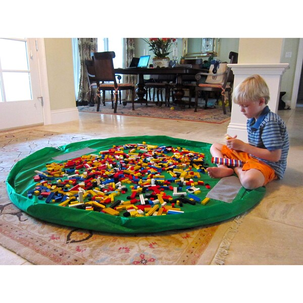 Lay-n-Go 5-Foot Green Activity Mat 10646454