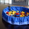 Lay-n-Go Lite 18-inch Blue Activity Mat