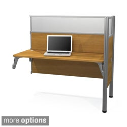 Bestar Pro-Biz Simple Add-on Desk Section with Adjustable Legs