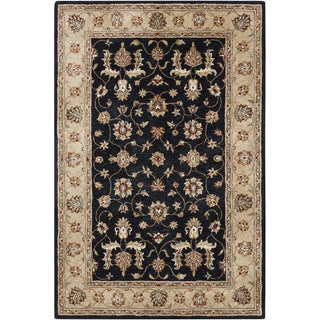 Hand-tufted Traditional Ismay Oriental Viscose Rug (5' x 8')