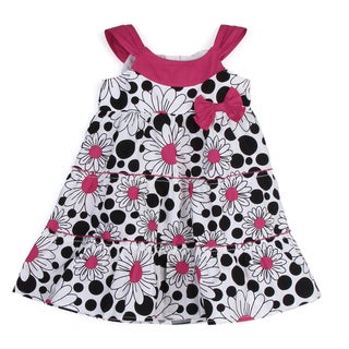 Lilybird Girl's Floral Printed Dress