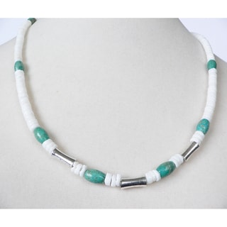 "'Tucson' Turquoise 19""Men's Necklace"