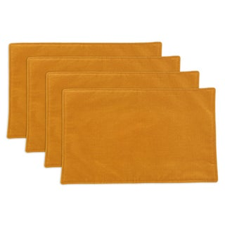 Buttercup Butterscotch Placemat Set (Set of 4)