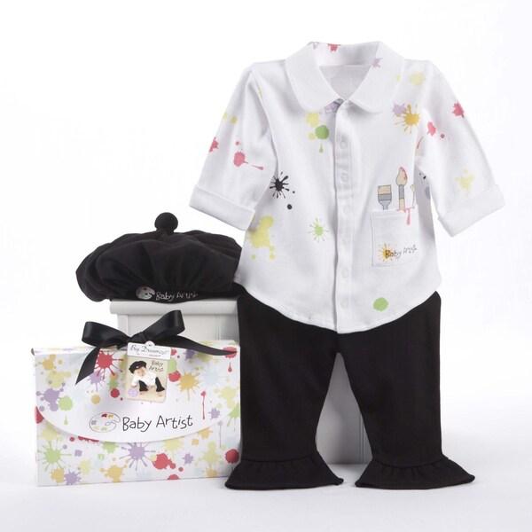 Baby Aspen Big Dreamzzz 3-piece Layette Set in Baby Artist