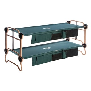 Disc-O-Bed Cam-O-Bunk Large Green Bunk Bed