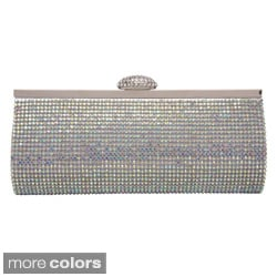 J. Furmani Women's Fully Crystal Evening Bag