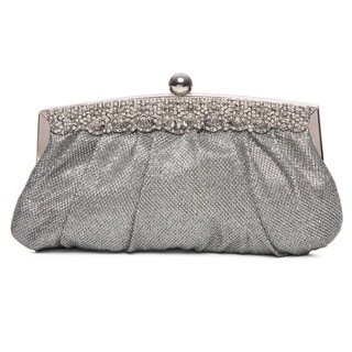 J. Furmani 'Red Carpet' Jeweled Top Frame Clutch