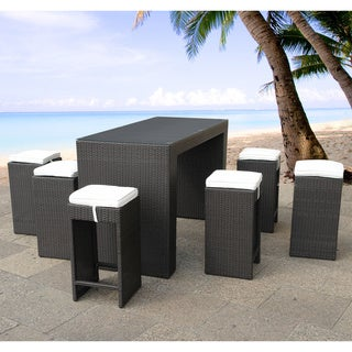 Verona Outdoor Bar Table and Stool Set