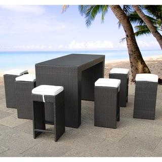 Verona Outdoor Bar Table and Stool Set