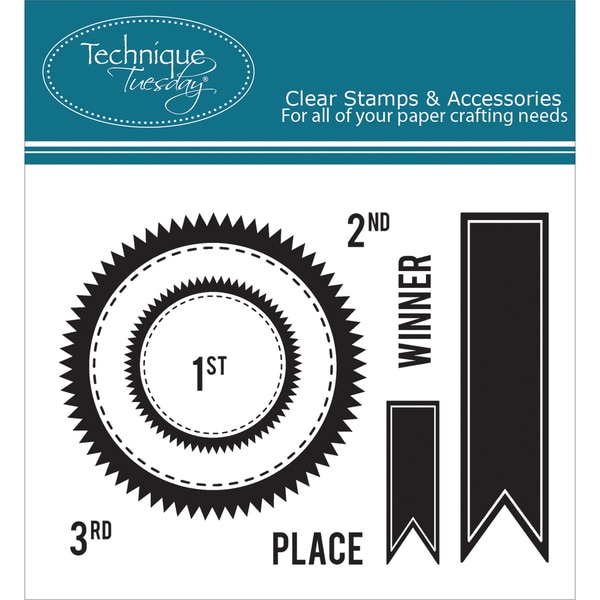 """Technique Tuesday Clear Stamps 3""""X4""""-Seal Companion - Winner"""