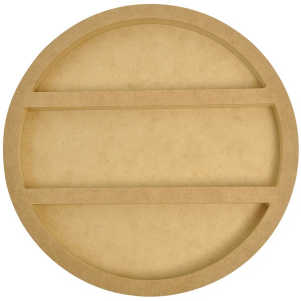 Beyond The Page MDF Round Shadow Frame-
