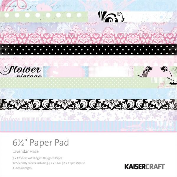 """Lavender Haze Paper Pad 6.5""""X6.5""""-"""
