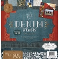 "Denim Paper Stack 12""X12"" 48/Sheets-24 Designs/2ea"