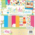 "Birthday Paper Stack 12""X12"" 48/Sheets-24 Designs/2ea"