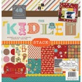 Kidlet Paper Stack 12&quot;X12&quot; 48/Sheets-24 Designs/2 Each