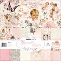 "Bundle Of Joy Paper Pack 12""X12""-Girl"
